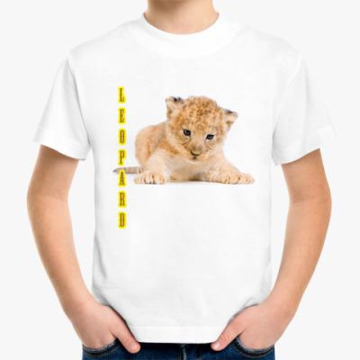 Детская футболка Детская футболка - Леопард 2