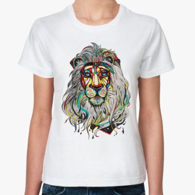 Классическая футболка 'Lion'