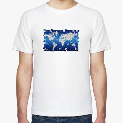 Футболка  'World Puzzle'