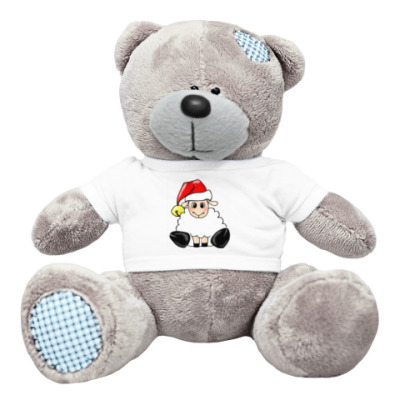 Плюшевый мишка Тедди Овечка