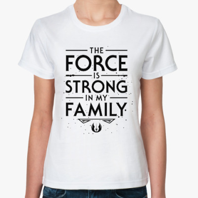 Классическая футболка Семья (Звёздные войны)