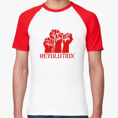 Футболка реглан Revolution