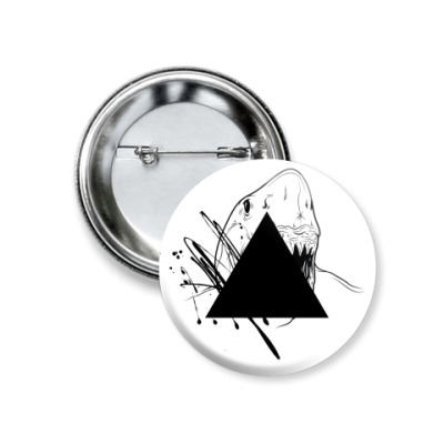"Значок 37мм ""Triangle"""