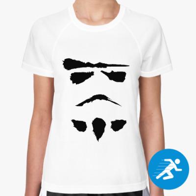 Женская спортивная футболка минималистичный штурмовик
