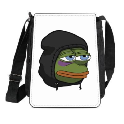 Сумка-планшет Лягушка Пепе