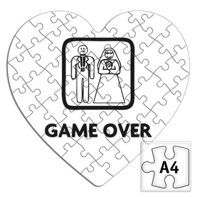 Пазл Game Over