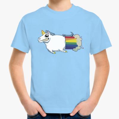 Детская футболка Радужный пони