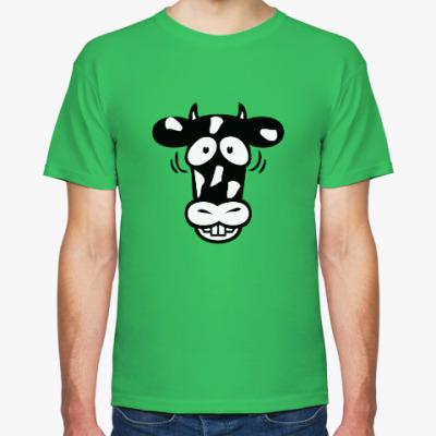 Футболка Смешная Корова