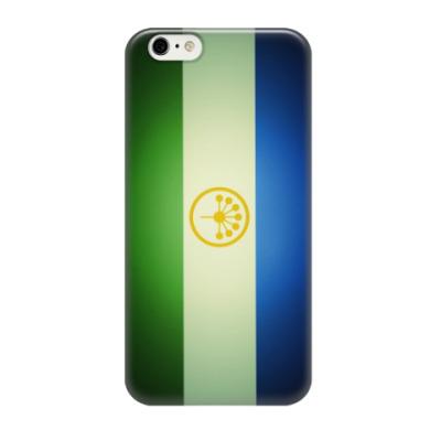 Чехол для iPhone 6/6s Флаг республики Башкортостан