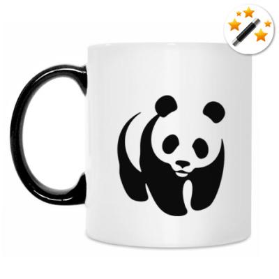 Кружка-хамелеон WWF. Панда