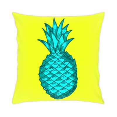 Подушка Зеленый ананас