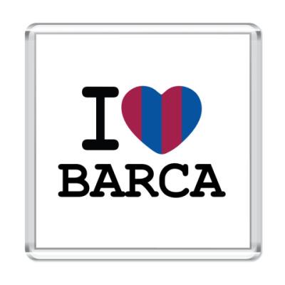 Магнит I Love Barca