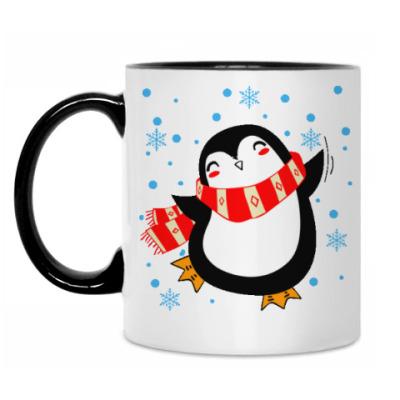 Кружка Веселый пингвин