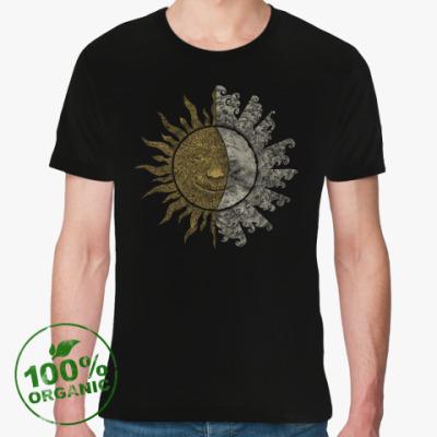 Футболка из органик-хлопка Солнце и Луна