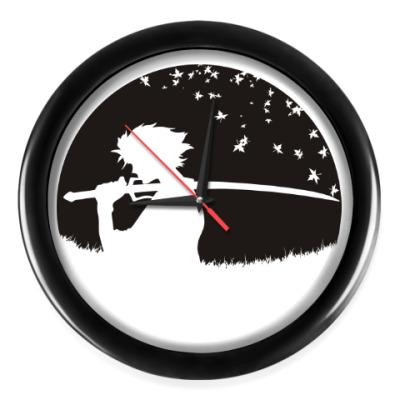 Настенные часы Самурай