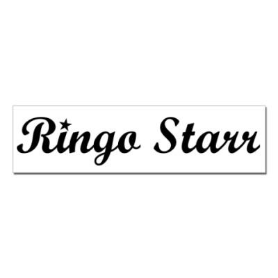 Наклейка (стикер)  Ringo Starr
