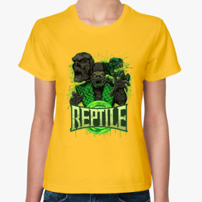 Женская футболка Reptile