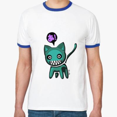 Футболка Ringer-T JDM Cat
