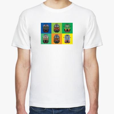 Футболка Электротяга Pixel-art