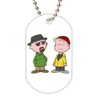 Жетон dog-tag Walter & Jesse