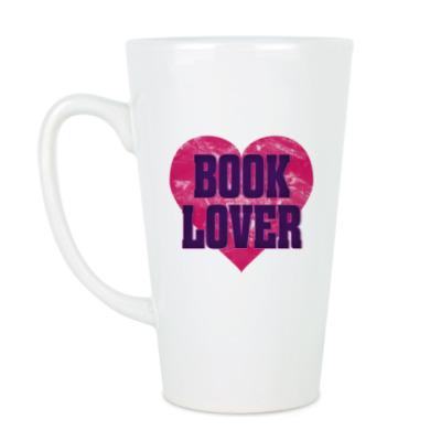 Чашка Латте Book Lover