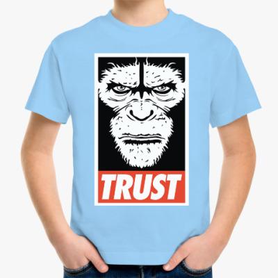 Детская футболка Верь