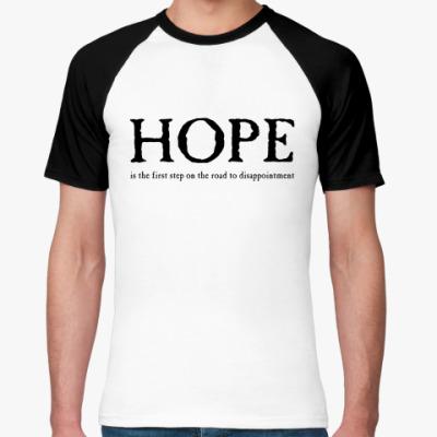 Футболка реглан 'Надежда'