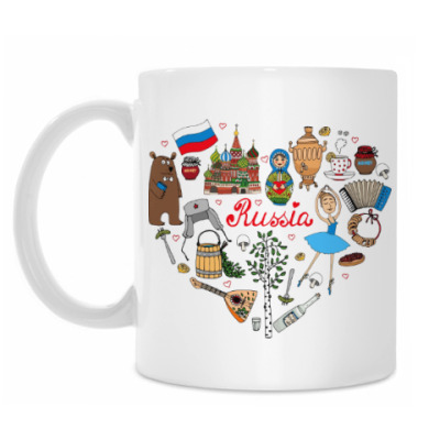 Кружка Россия (Russia)