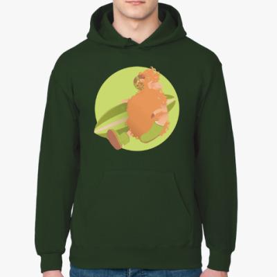 Толстовка худи Animal Fashion: U is for 'Uggs' on merinos sheep