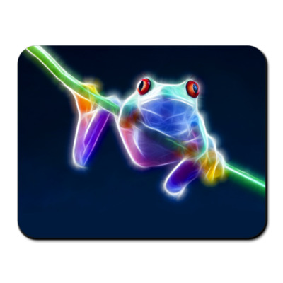 Коврик для мыши Neon frog