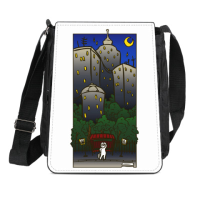Сумка-планшет Ночной город