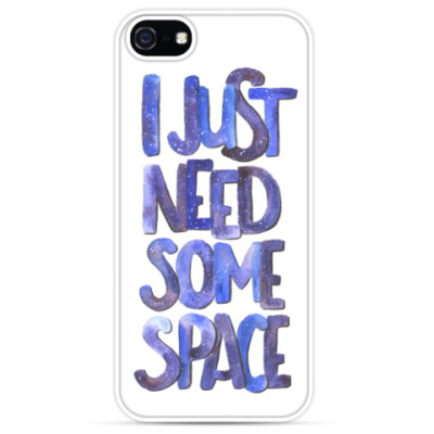 Чехол для iPhone I just need some space