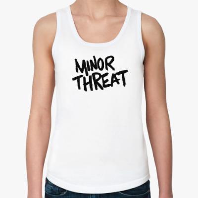 Женская майка  Minor Threat