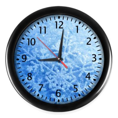 Настенные часы Снежная мания
