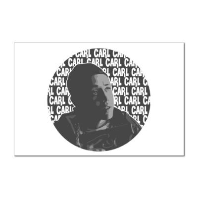 Наклейка (стикер) Карл Shameless (Бесстыжие)