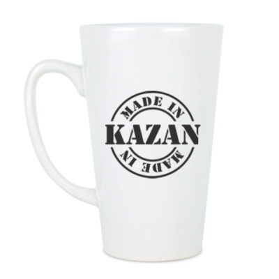 Чашка Латте Made in Kazan