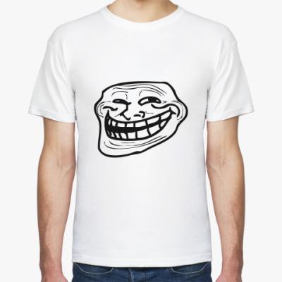 Футболка Trollface