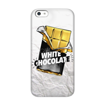 Чехол для iPhone 5c Carl WHITE CHOCOLATE Gallagher. Shameless