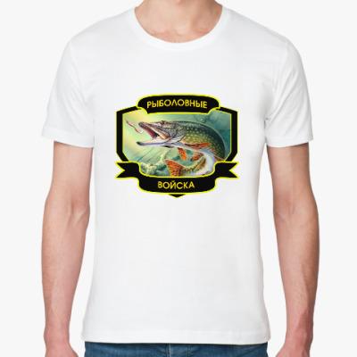 Футболка из органик-хлопка Рыболовные войска