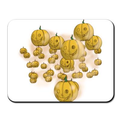 Коврик для мыши Весёлый хэллоуин