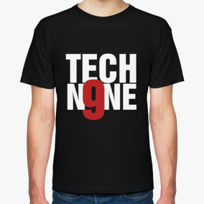 Футболка  Tech N9ne