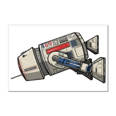 Наклейка (стикер) Star Wars - R5D4