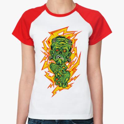Женская футболка реглан Franken