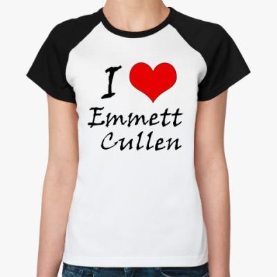 Женская футболка реглан Эммет