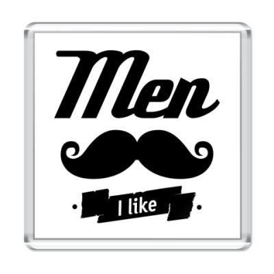 Магнит 'Men I like'