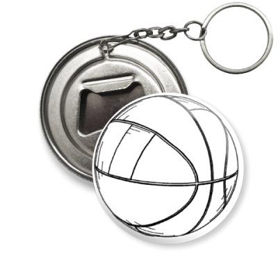 Брелок-открывашка Мяч