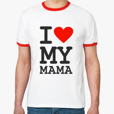 Футболка Ringer-T I love my mama
