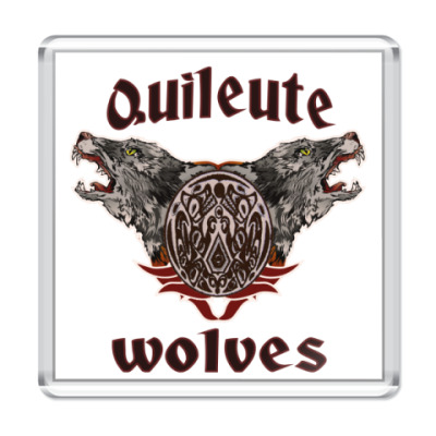 Магнит  Quileute wolves