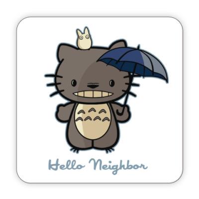 Костер (подставка под кружку) Hello Totoro