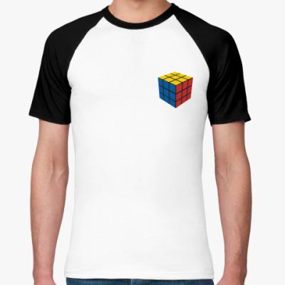 Футболка реглан Кубик Рубика